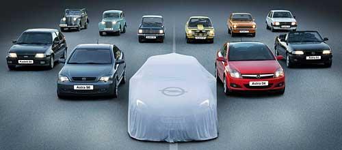 Teaser del Opel Astra 2009