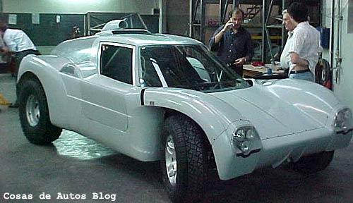 El prototipo de Heriberto Pronello - Foto: Pronello