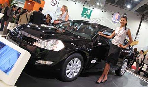 Renault Safrane en el SIAM 2008 - Foto: Terra México