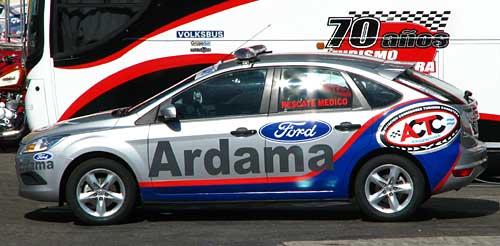 Nuevo medical car del Top Race