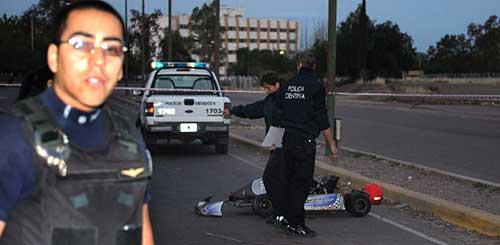 Un chico de 12 años murió en Mendoza al chocar con su karting - Foto: MDZOL