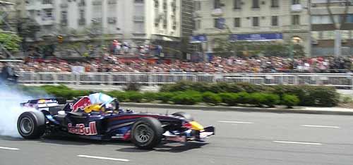 David Coulthard en Buenos Aires - Foto: Cosas de Autos Blog
