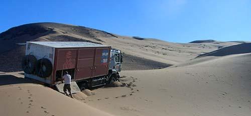 Repaso de la ruta del Dakar 2009 - Foto: Prensa Dakar