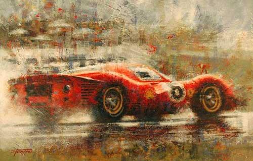 Ferrari P4-72 por Juan Carlos Ferrigno