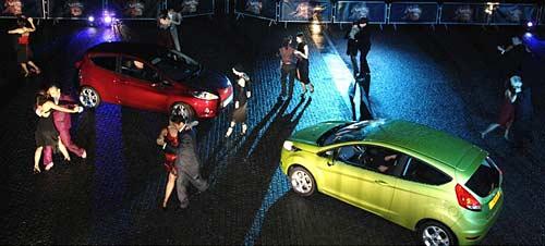 Lanzamiento del Ford Fiesta en Londres