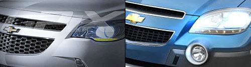 Chevrolet  GPiX versus Chevrolet Prisma Y