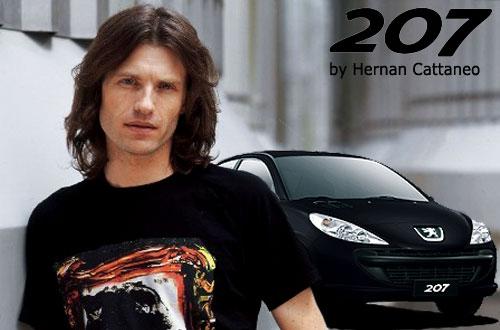 Peugeot 207 Compact by Hernan Cattaneo - Fotomontaje: Cosas de Autos Blog