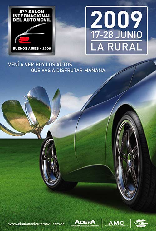 Afiche Salón del Automóvil 2009