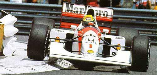 Ayrton Senna y su McLaren