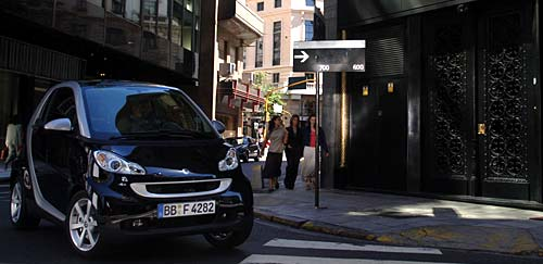 Smart llega a Brasil en 2009