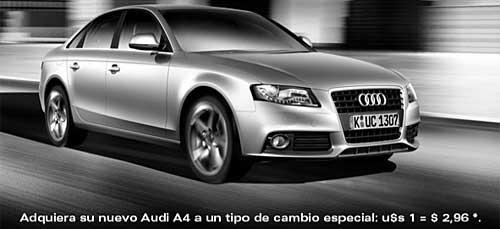 Audi A4 promo descuento