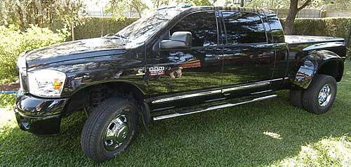 La Dodge RAM de Hernán De Carli - Foto: Perfil