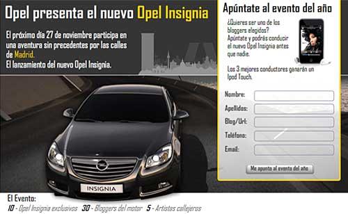 Evento Insignia de Opel España