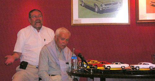 Jorge Ferreyra Basso y Pedro García