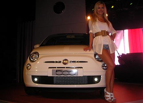 Presentación del Fiat 500