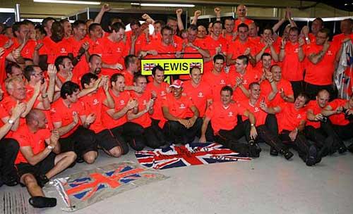 Hamilton es el nuevo campeón mundial de Fórmula 1