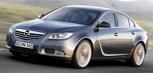 Opel Insignia es el Car of the Year 2009