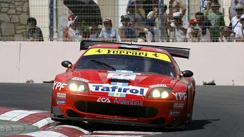 José María López y Esteban Tuero largaron últimos y llegaron cuartos. Foto: FIA GT.