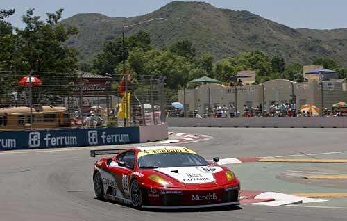 Matías Russo y Luis Pérez Companc en San Luis - Foto: FIA GT.