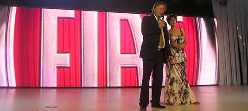 Cristiano Rattazzi y Ursula Vargues