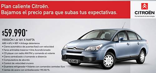 Citroën C4 con descuento en diciembre