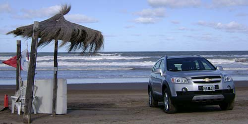 Test a la Chevrolet Captiva - Foto: Cosas de Autos