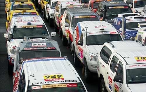 Previa Dakar Argentina-Chile 2009 -  Foto: Prensa ASO