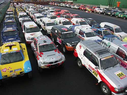 Dakar Argentina-Chile 2009: Inspección técnica. Foto: Prensa ASO