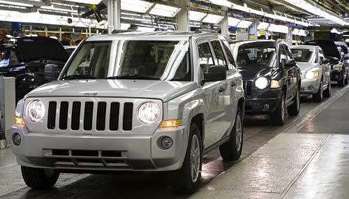 Planta de Chrysler en EE.UU.