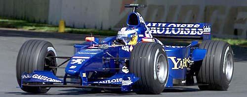 Prost-Peugeot de Nick Heidfeld