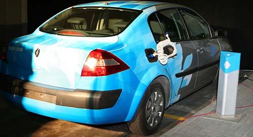 Renault Mégane II eléctrico de Better Place