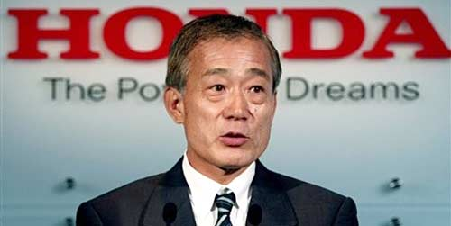 Takeo Fukui, presidente de Honda