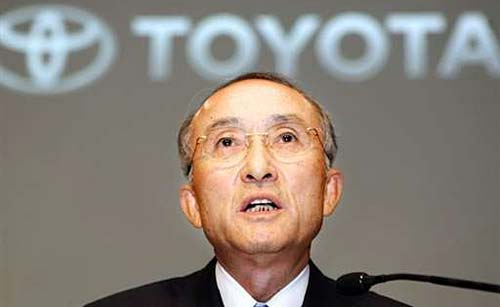 Katsuaki Watanabe, presidente de Toyota