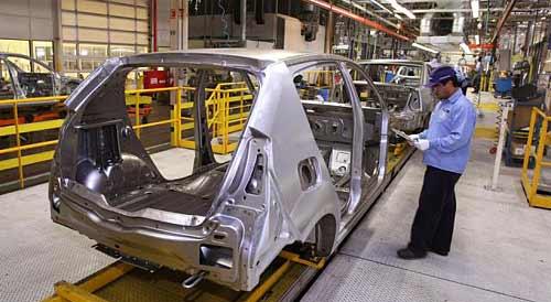 Producción del Renault Sandero en Brasil