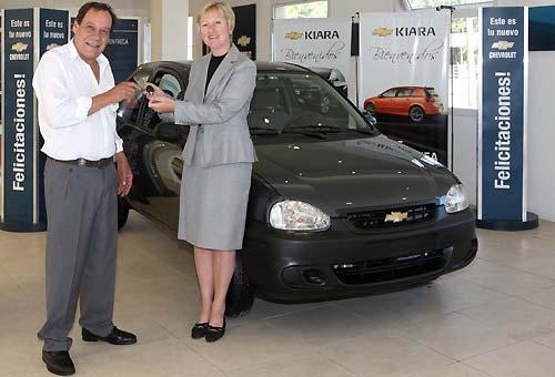 Chevrolet entregó el primer Corsa Life del plan de incentivación