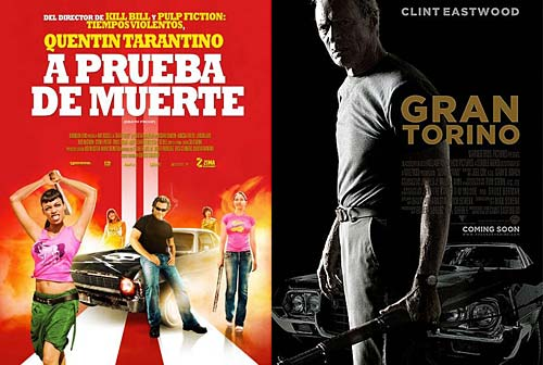 Death Proof y Gran Torino - Cosas de Autos.
