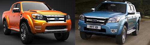 Nueva Ford Ranger 2009 y concept Ranger Max