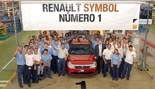 El primer Renault Symbol cordobés