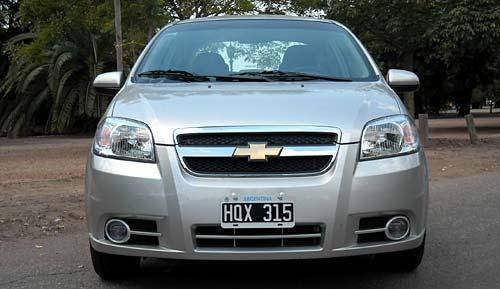 Chevrolet Aveo - Foto: Cosas de Autos