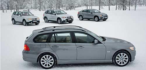 BMW en la nieve