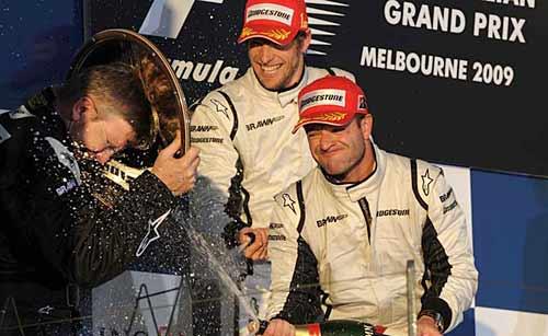 Brawn GP en lo más alto del podio de Australia.