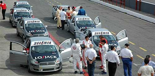 Fiat Linea Competizione en el Autódromo de Buenos Aires.