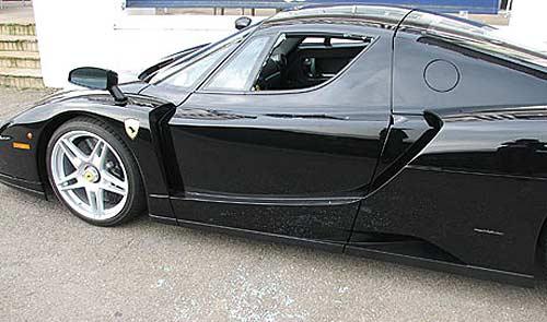 Así quedó la Ferrari de Jamiroquai