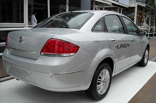 Lanzamiento Fiat Linea