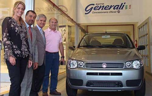 Fiat entregó el primer auto del Plan 0 Km.