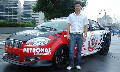 El Fiat Linea Competizione y Emiliano Spataro