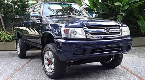 Great Wall Deer, similar a la Ford Ranger y a la Toyota Hilux de anterior generación.