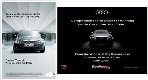 Publicidad Nuevo Round Entre Audi Y Bmw Cosas De Autos Blog