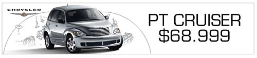 Promo Chrysler PT Cruiser Pascuas