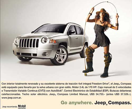 Promo Jeep Compass Pascuas